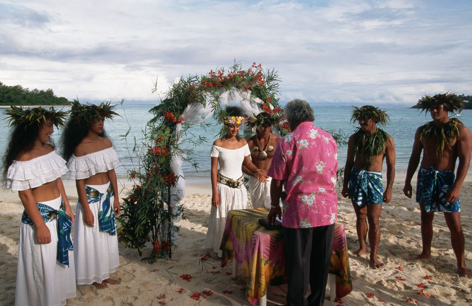 Tahiti Island in French Polynesia