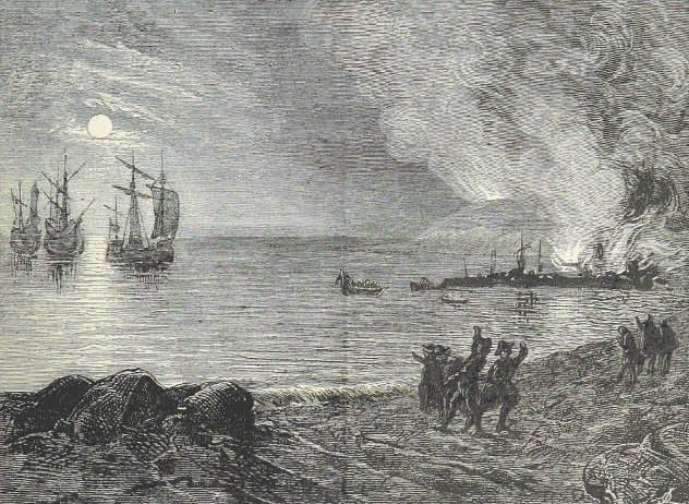 The Raid On Mount's Bay