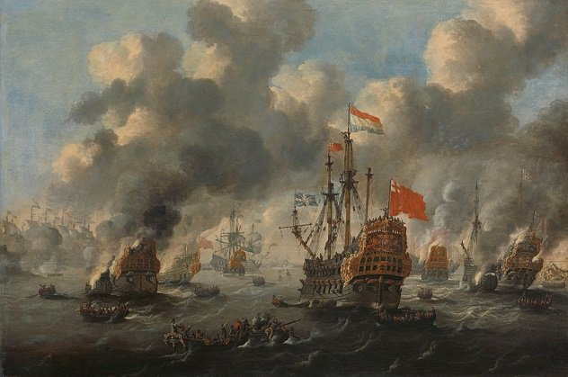 The Raid On The Medway