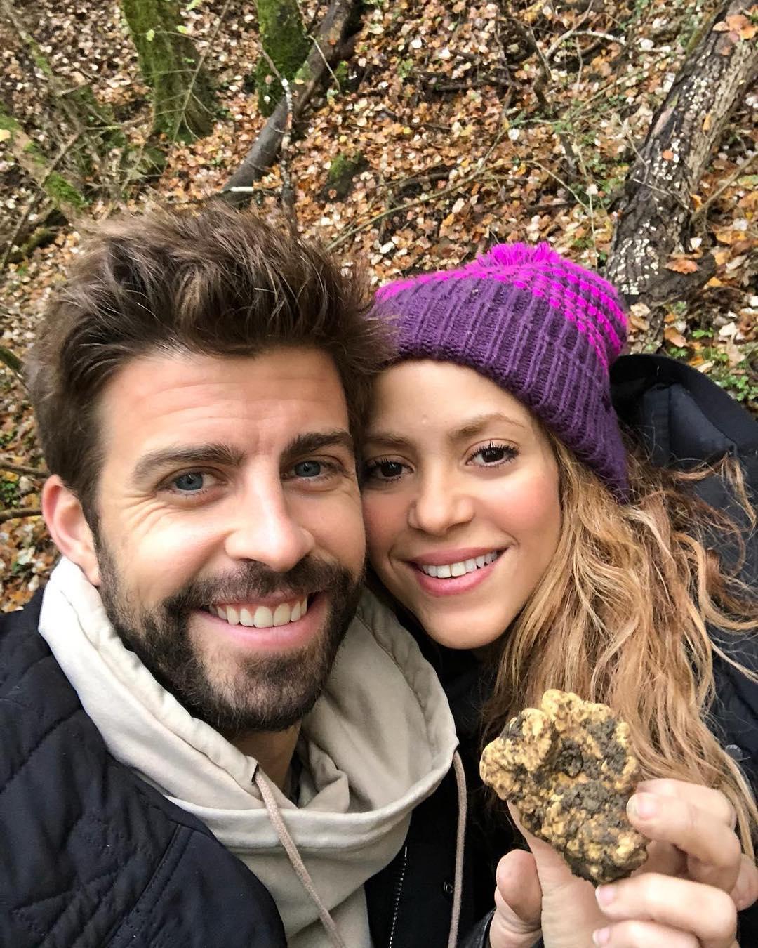 Girard Pique and Shakira