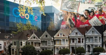 Google Housing Commitment at East Bay Area Values