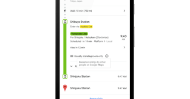 Google Maps Alert with live traffic updates for buses and Subways