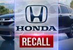 Honda Recalls 1.6M vehicles to replace Takata Airbags