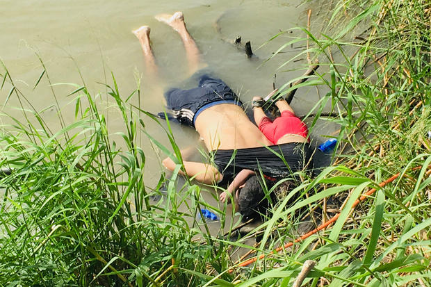 Migrant Dad and Daughter Drowned in Rio Grande