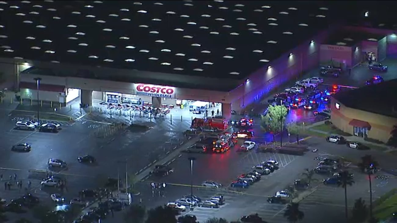 Shooting at Costco Store in Corona