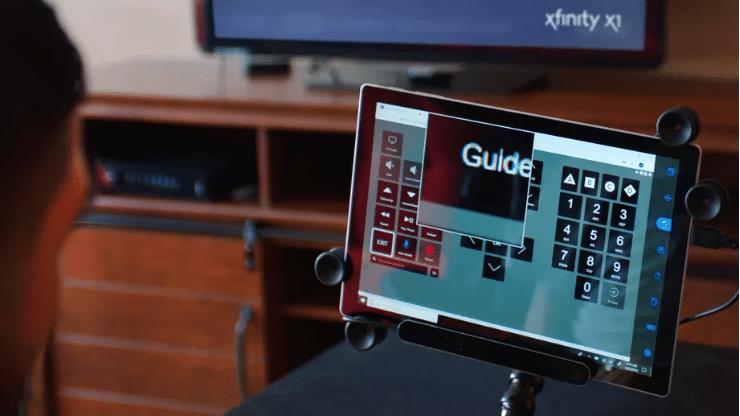 Xfinity X1 Eye tracking remote