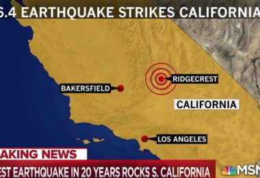 Earthquake Strikes Southern California with 6.4 Magnitude