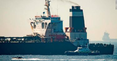 Iranian Oil Tanker to Syria Seized by the UK Marines