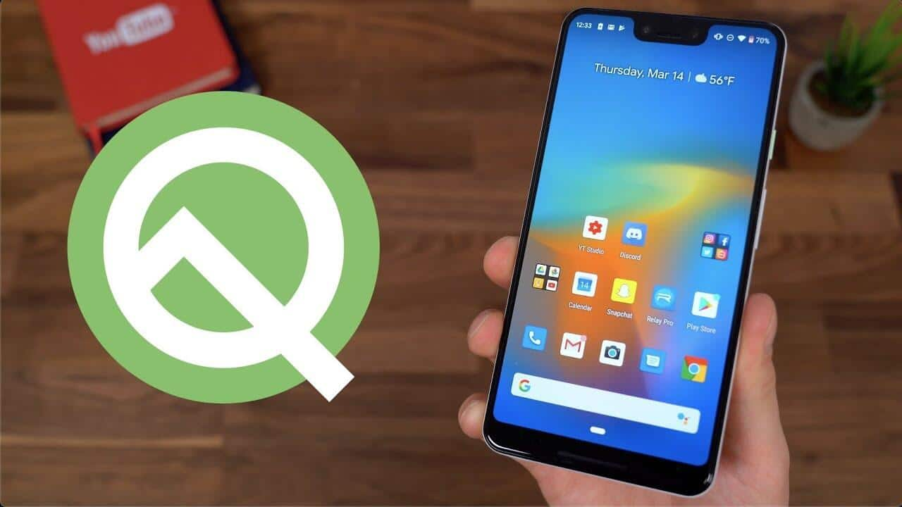Android 10 (Codename Android Q)