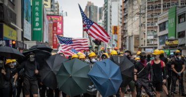 China blames the US for the Hong Kong protests