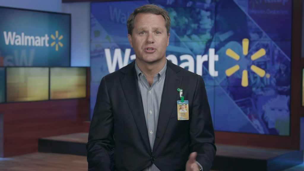 Doug McMillon, CEO of WALMART