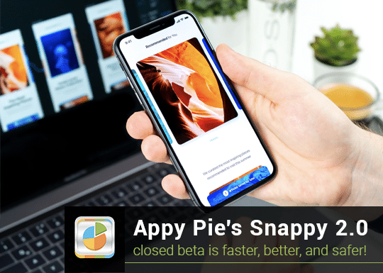 Appy Pie brings Snappy 2.0