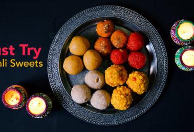 Diwali 2019 - Top 5 Delicious Sweets Recipes