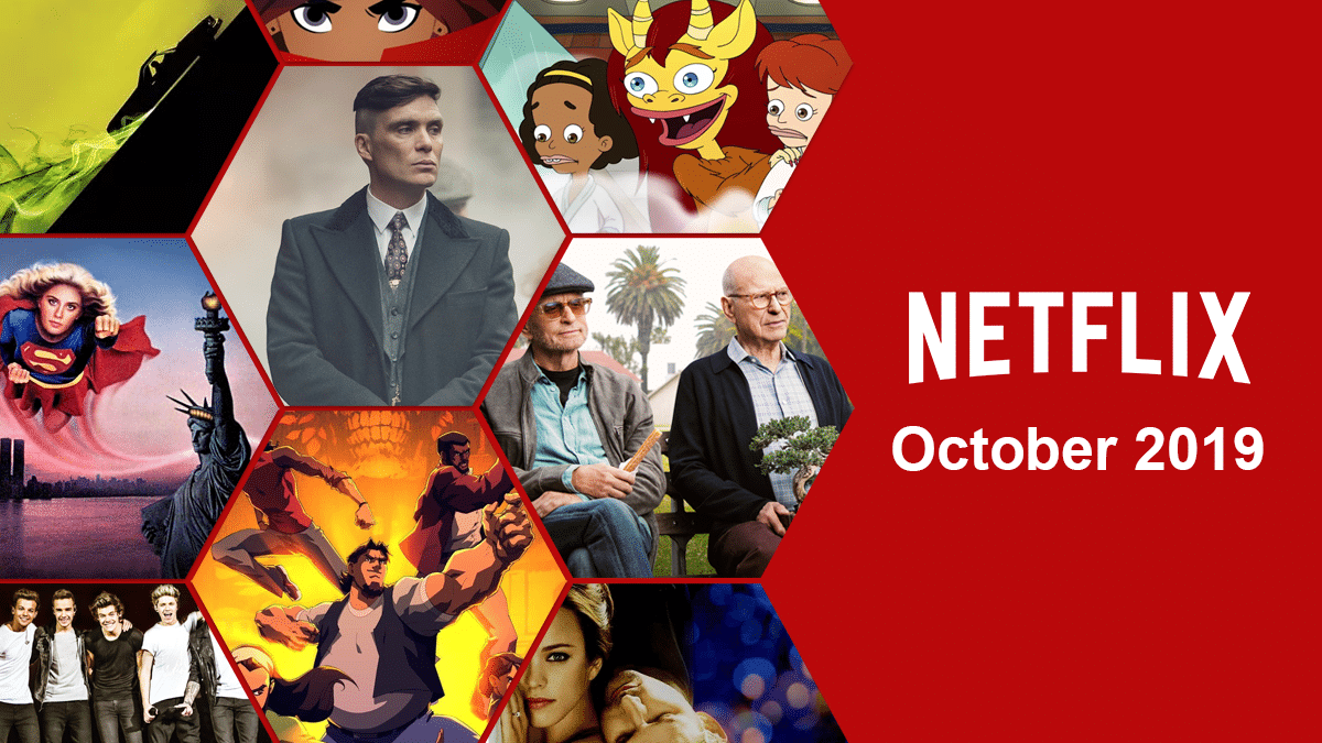 Top 10 Movies on Netflix in October 2019