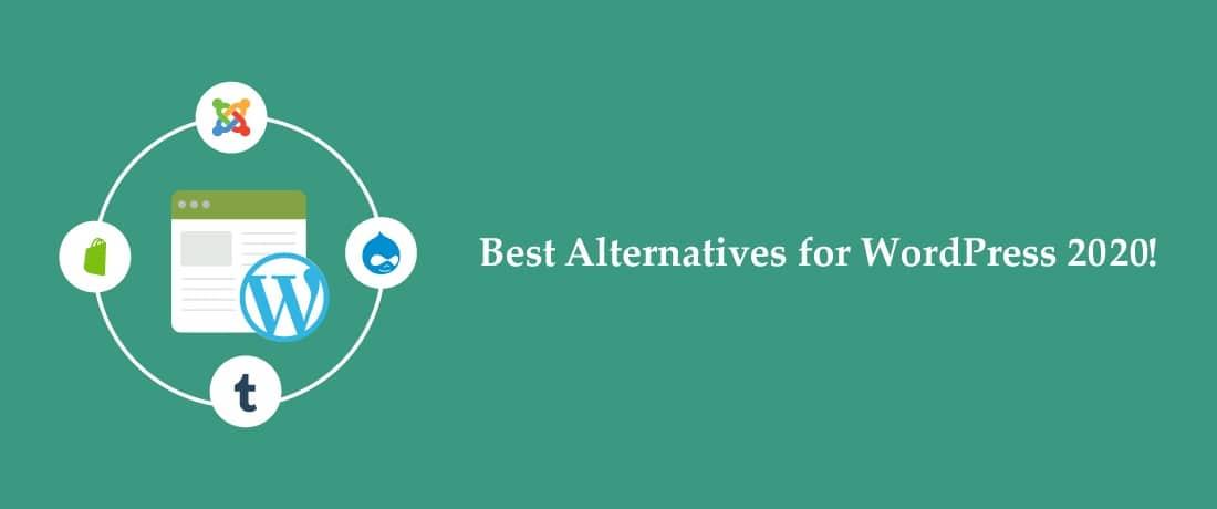 List of 10 WordPress Alternatives in 2020