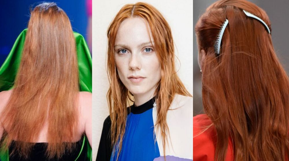 2020 Hair Trends and Hair Styles - Red Hair